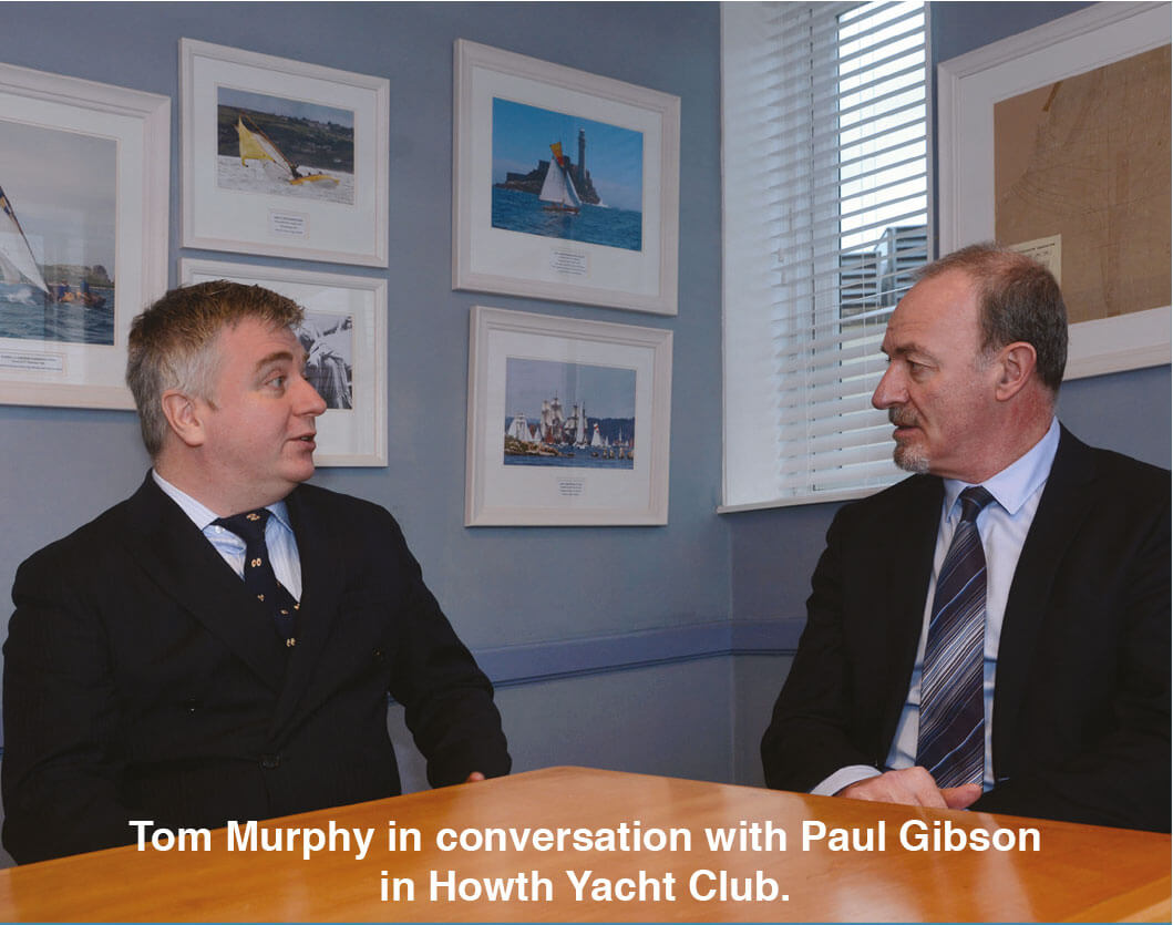 Tom Murphy (L) MLP CEO - Paul Gibson (R) Irish Broker magazine